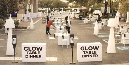 Glow Table Dinner